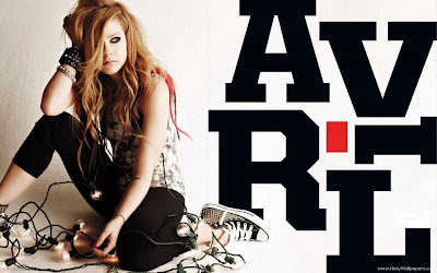 Avril Lavigne Let Go singer Wallpaper
