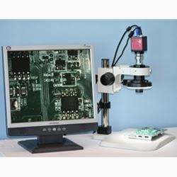macro zoom lens microscope system