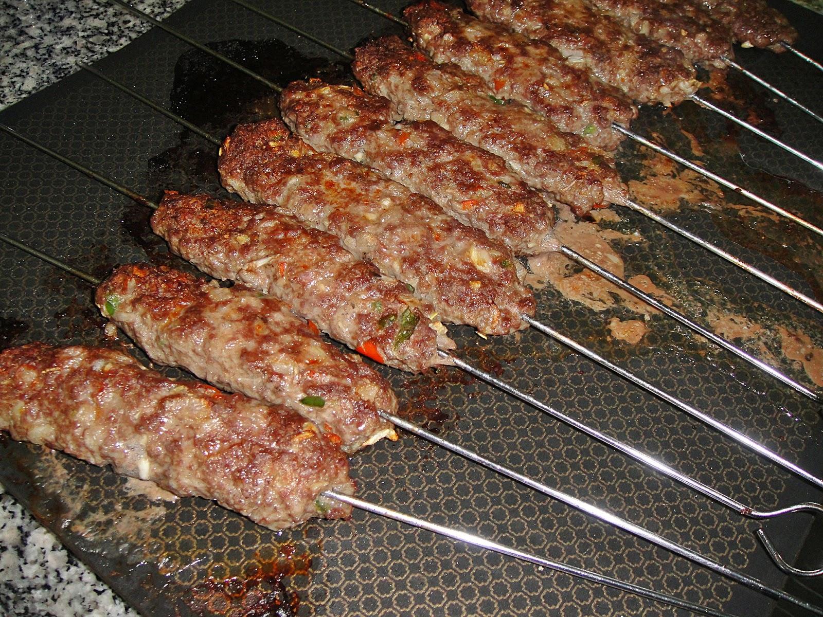 Куриные люля-кебаб в духовке рецепт