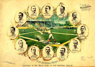 Our baseball heroes - captains of the twelve clubs in the National League
