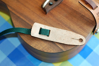 Uke Leash Guitar Strap with no rivets