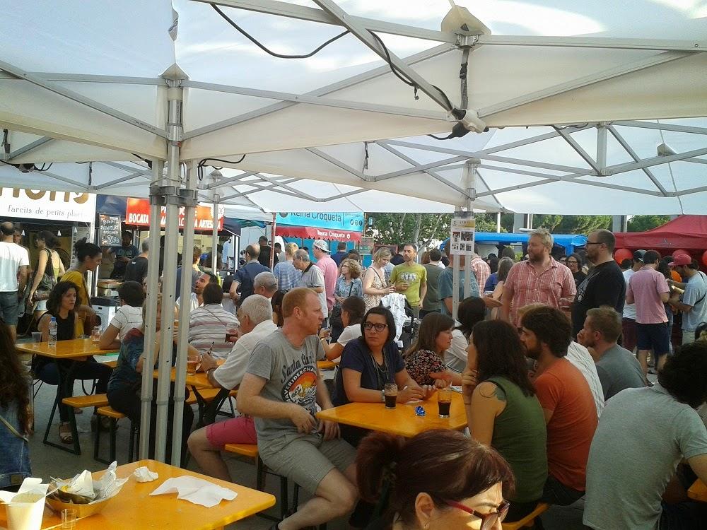 fira de cervesa de Poblenou 2014