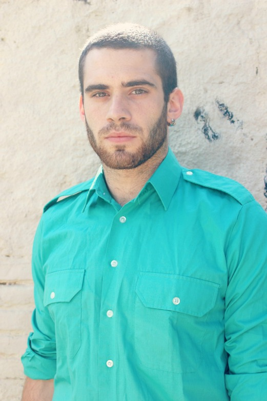 turquoise vintage shirt