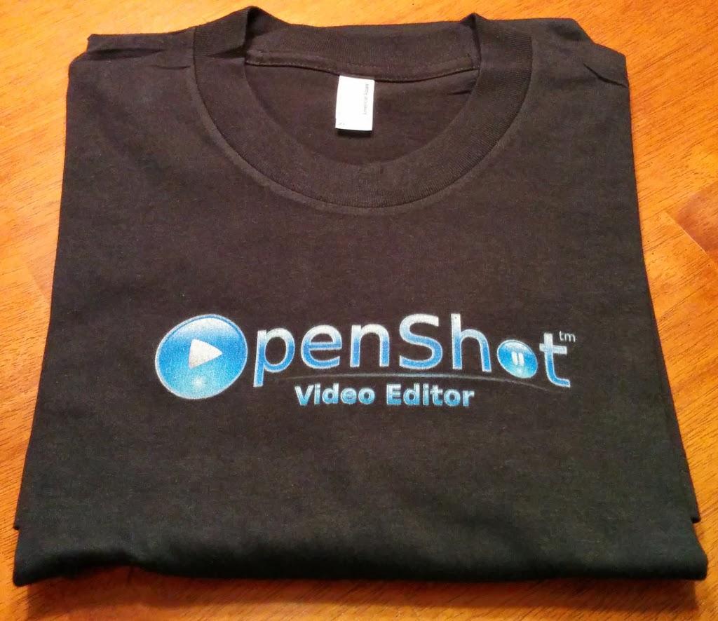 1st Generation OpenShot T-Shirt