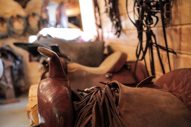 Tackhouse at Ranch in Montana