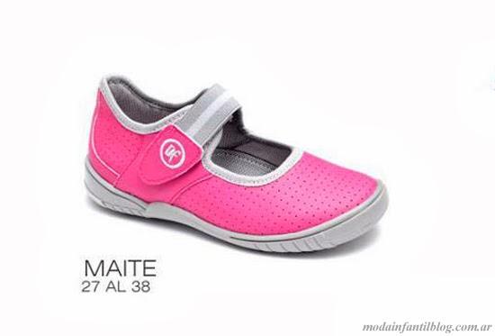 calzado infantil primavera verano 2014