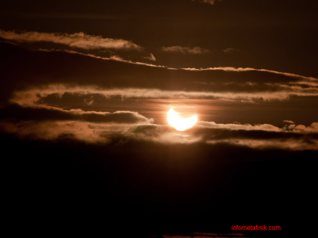 Matahari Paling Aneh, Muncul di Malam Hari