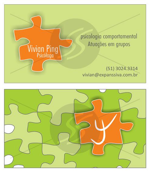 M173 comprar cartoes de visita - Cartões de Visita para Psicólogos