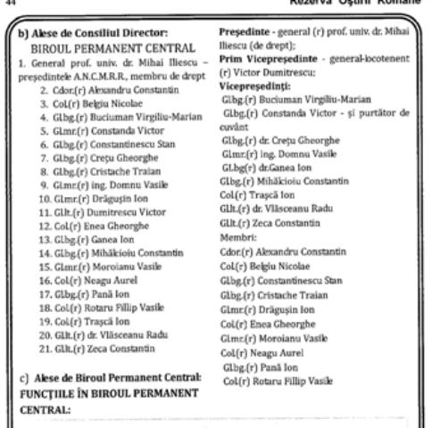ORGANE DE CONDUCERE A ACMRR (clic pe poza)