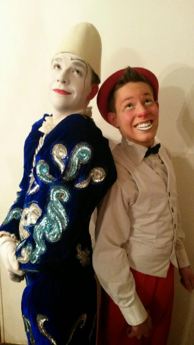 duo de clowns Benji et Dim