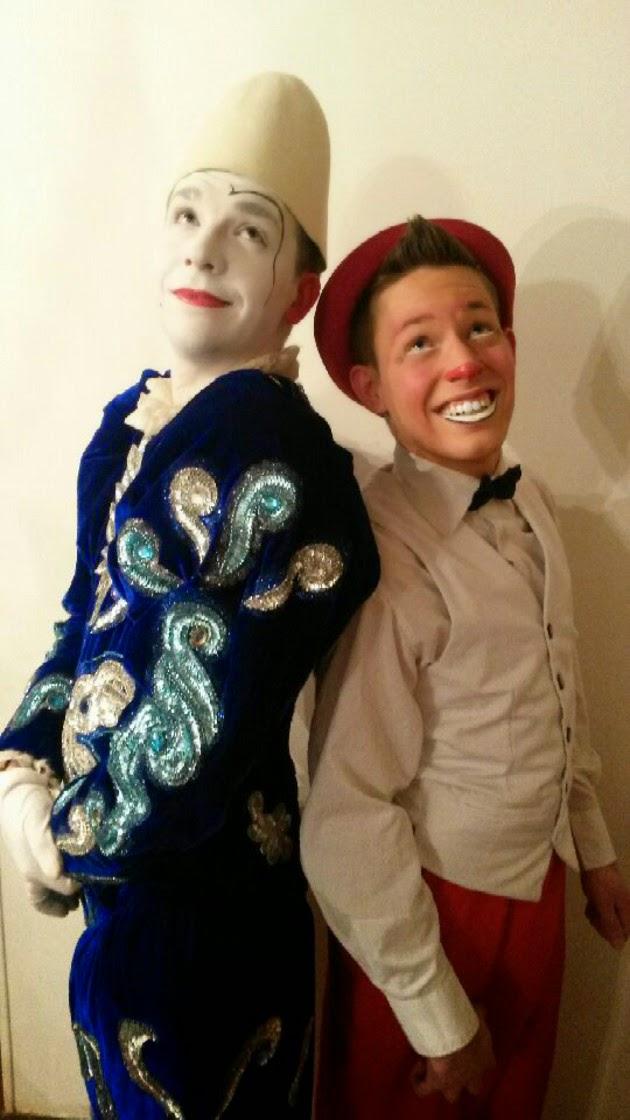 duo de clowns Benji et Dim