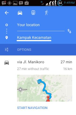 Cara menggunakan Navigation Shorcut 3