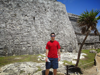 Me in Mexico at Myan Ruins