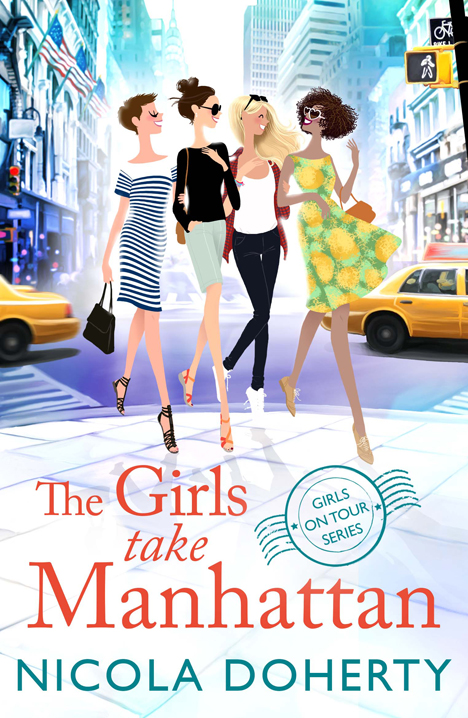 The girls take Manhattan by Nicola Doherty illustration by Adrian Valencia