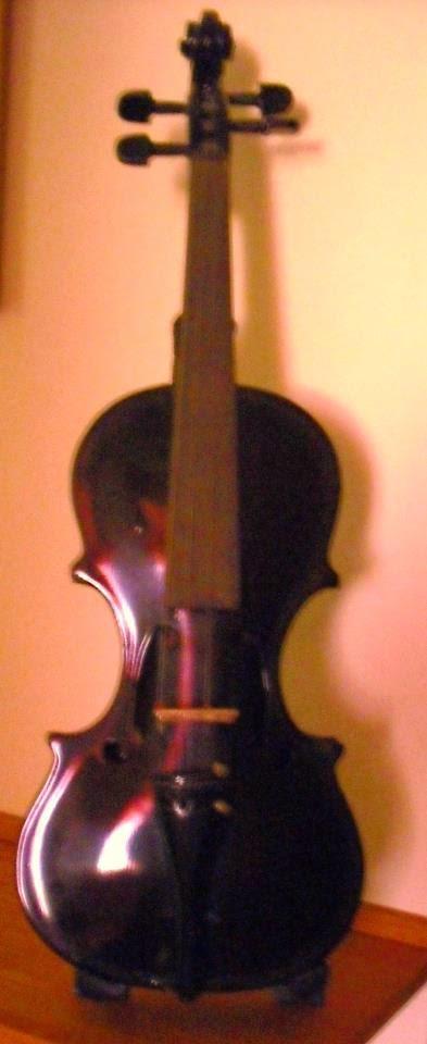 Il magico violino nero costruito da mio padre