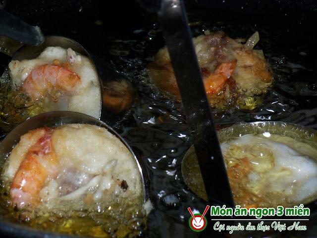 chien banh cong1 Bánh cóng   đặc sản Sóc Trăng