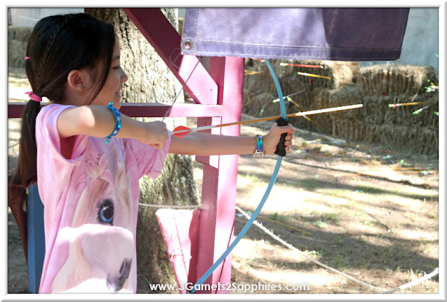 Test your archery skill at King Richard's Faire 2015 #krfaire