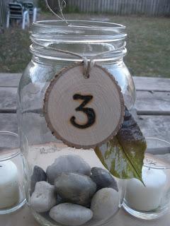 Ideas para decorar tu boda con tarros de cristal 3