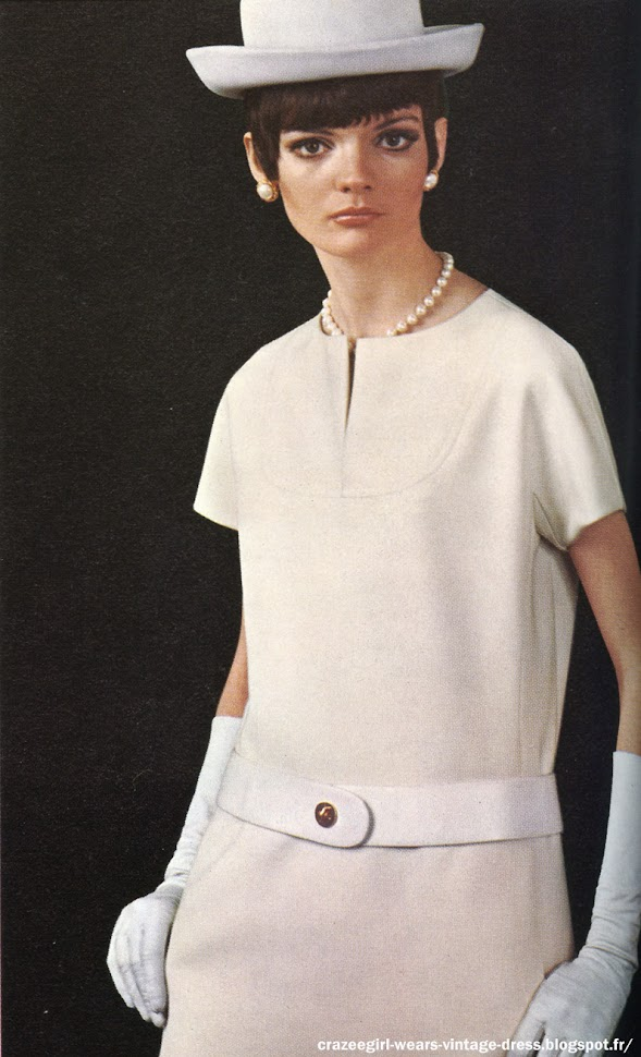 Givenchy 1967 60s 1960 dress mod