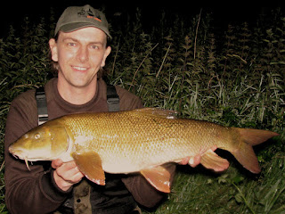 A 12lb barbel which took my feeder-fished pellet cluster offering.  My largest of 2015