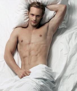 Obligatory topless pic of Alexander Skarsgard