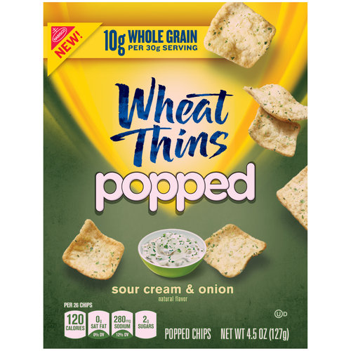 ... of Wheat Thins are set to arrive this month in new Wheat Thins Popped