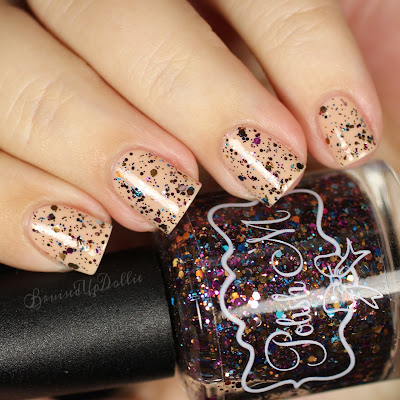 polish 'm, mocha sprinkles, indie polish, manicure, indie, short nails