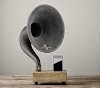 Gramophone for iPhone and iPad: a vintage amplifier that works without electricity