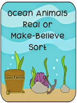 https://www.teacherspayteachers.com/Product/Ocean-Animals-Real-or-Make-Believe-Activity-Pack-711108