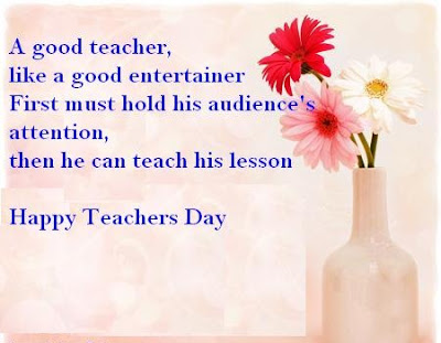 Happy Teacher's Day Quote