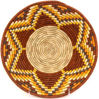 Coil Woven Bowl from Uganda
