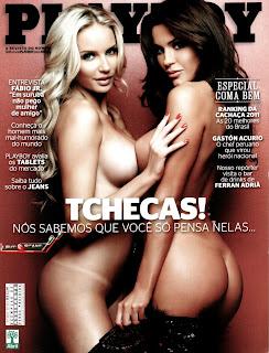 revistas xxx Tchecas Panico na TV – Revista Playboy – Julho 2011