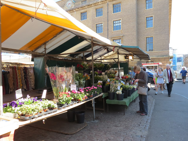 Cambridge town market