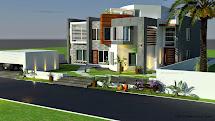 Modern Villa Floor Plans 3D
