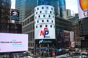 Our Media partner NP flashed in NY