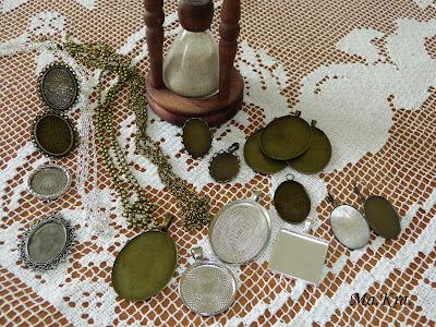 bazy do haftu, biżuteria haftowana