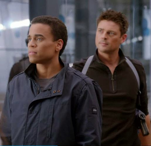 Michael Ealy and Karl Urban