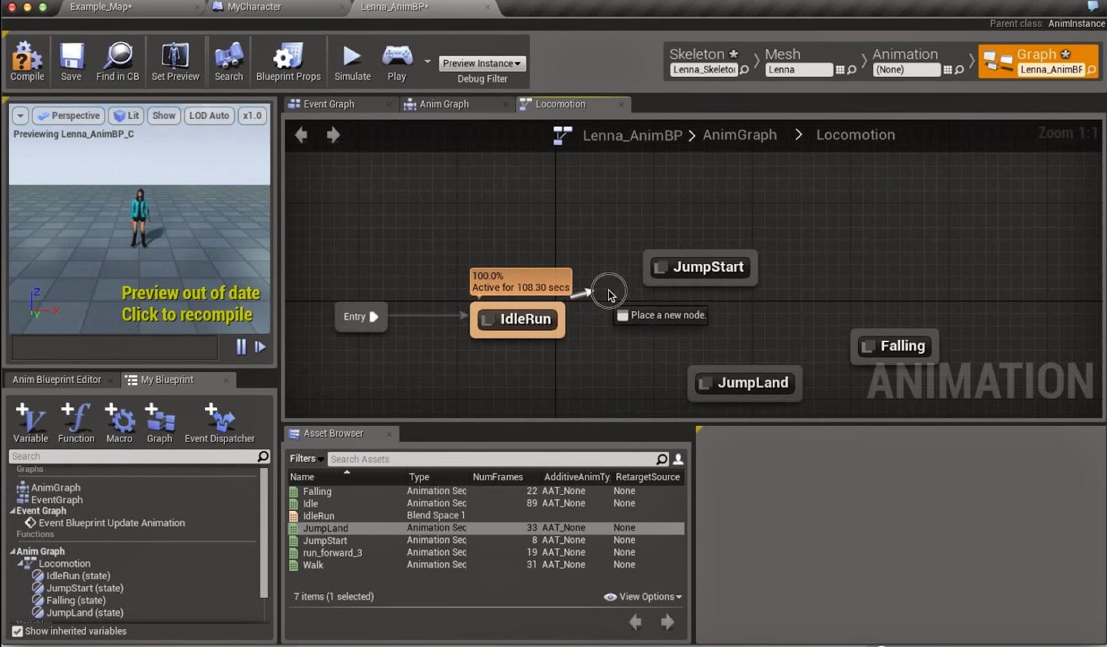 Mixamo to unreal engine 4 workflow cg tutorial mixamo to unreal engine 4 workflow homeanimationrigging malvernweather Choice Image