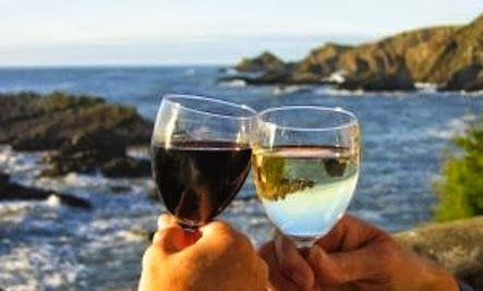 Relationship Reboot: Recreate the First Date - wine champagne nature sea open air