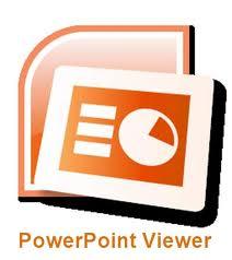 ����� ������ PowerPoint Viewer