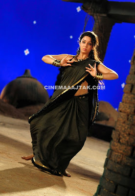 Charmi Kaur In New sexy Saree Images
