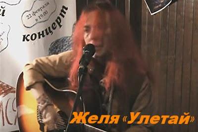 Желя. Песня «Улетай» под гитару
