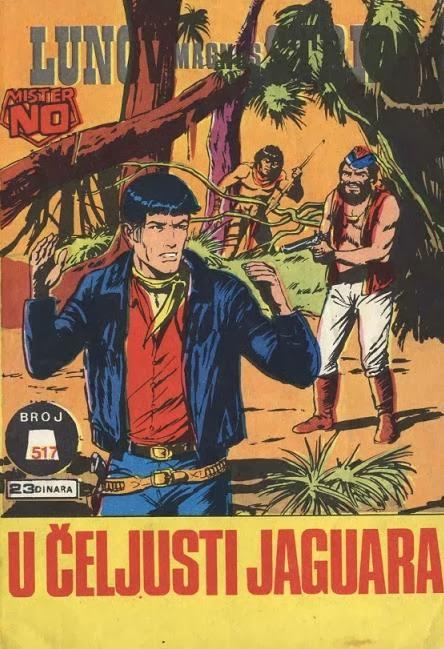 Mister No U+celjusti+Jaguara