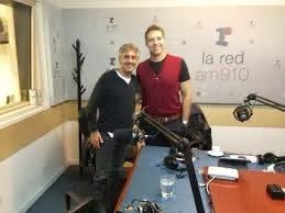 Sergio Dalma con Alejandro Fantino