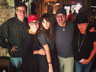 PLL BTS 6x19 Troian Bellisario (Spencer) and crew wrap filming season 6