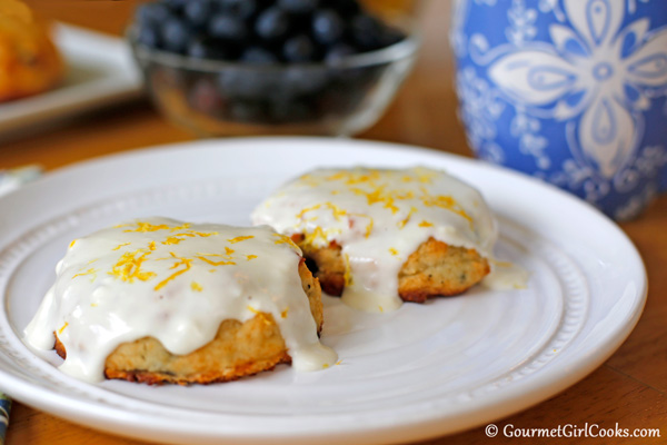 Almond Flour Blueberry Breakfast Rolls | In The Kitchen With ...