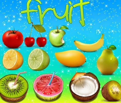 Fruit Frutas Icons