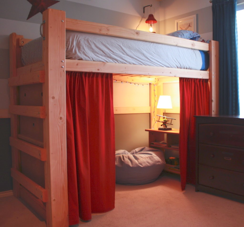 Design Ideas For Loft Beds