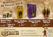 PASCUAS 2013 !!! Llega la época mas dulce del año, donde podemos disfrutar . flyer particulares