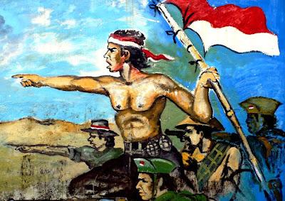 Foto Lukisan Pejuang Indonesia